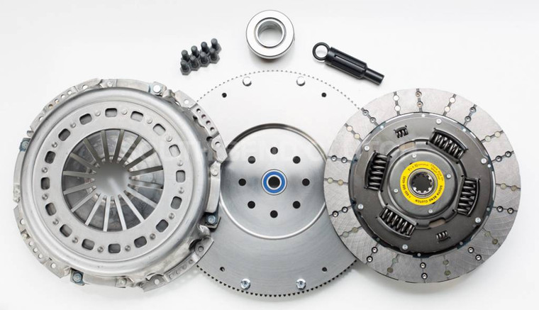 "South Bend Clutch 13"" Single Disc Kit 88-03 5-Speed & 99-00.5 6-Speed w/o HO Engine 550HP &1100TQ"
