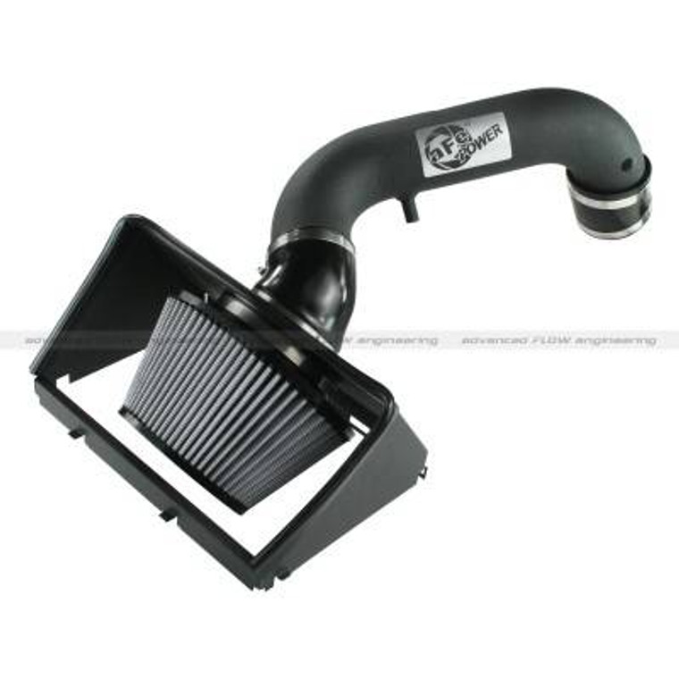 AFE Power Air Intake System 2013 Dodge RAM 1500 V8-5.7L HEMI Snap In Housing Powder-Coated Tube with Pro DRY S Media