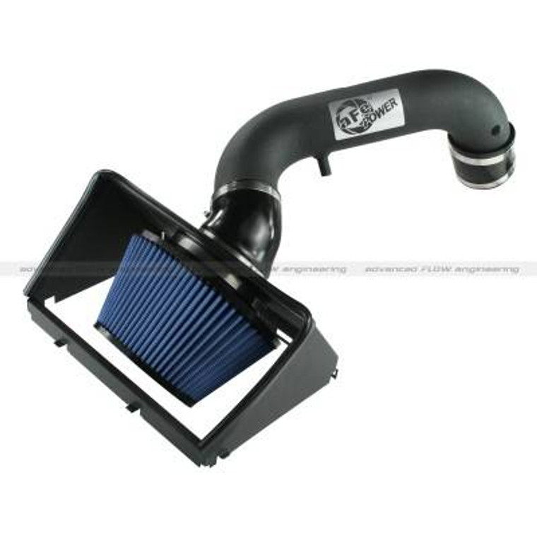AFE Power Air Intake System 2013 Dodge RAM 1500 V8-5.7L HEMI Snap In Housing Powder-Coated Tube with Pro 5R Media