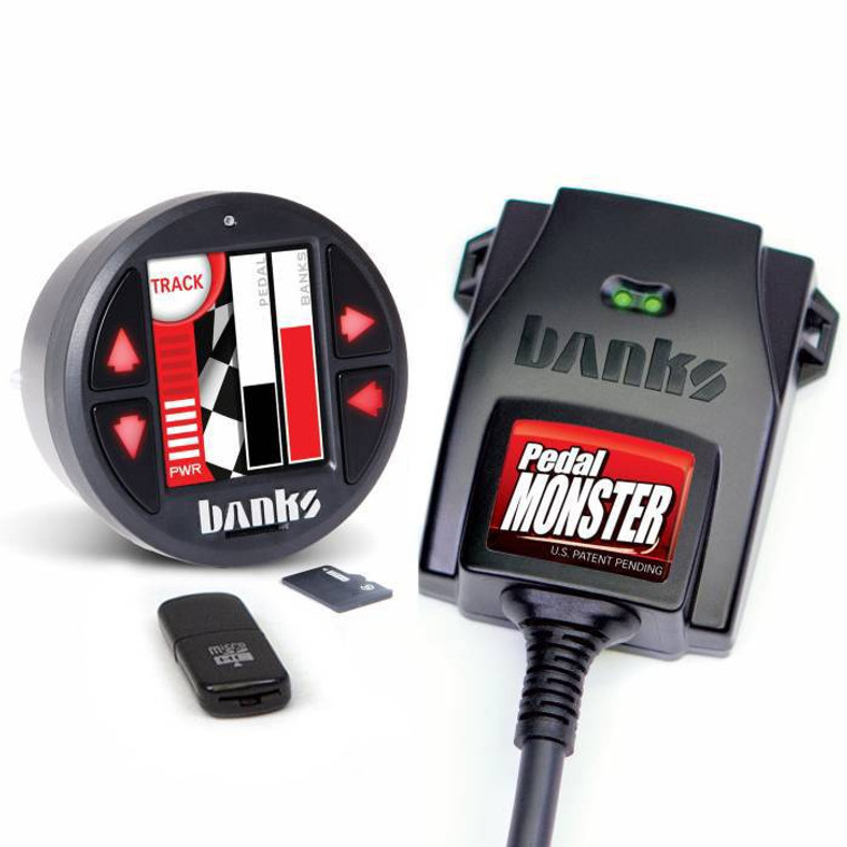 Banks PedalMonster, with iDash DataMonster for Chevy/GMC, Dodge/Ram, Ford, Jeep