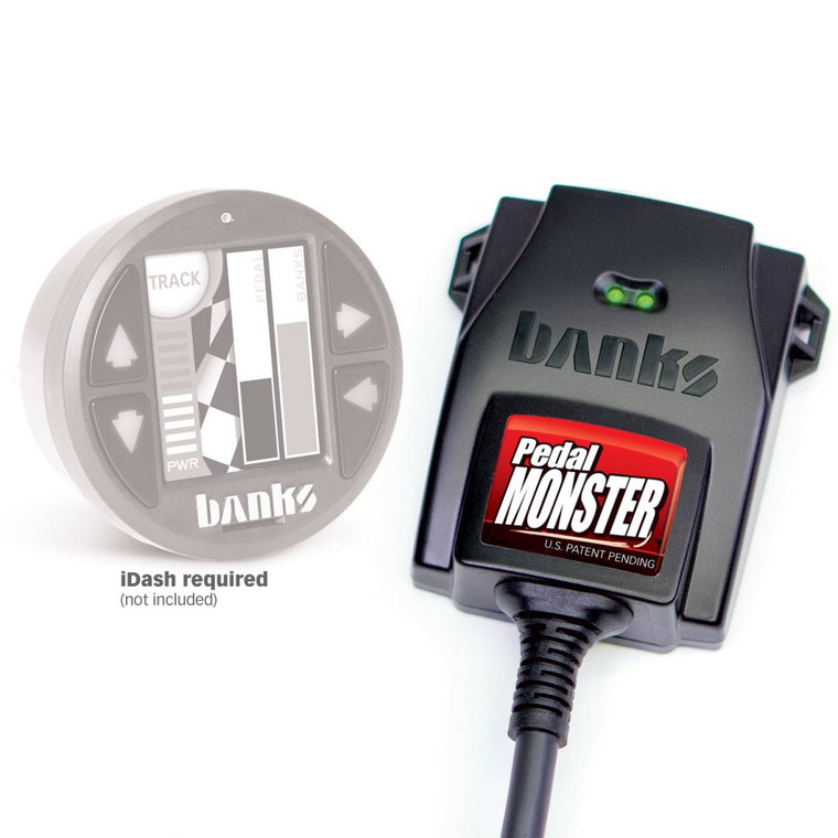 Banks PedalMonster, for use with existing iDash and/or Derringer* for Colorado/Canyon, Jeep Wrangler