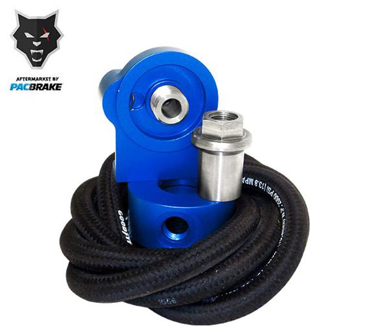 Pacbrake Remote Oil Filter Kit For 03-07 Dodge Ram 5.9L Cummins W/Filter Thread of 1 inch X 16 UN Pacbrake