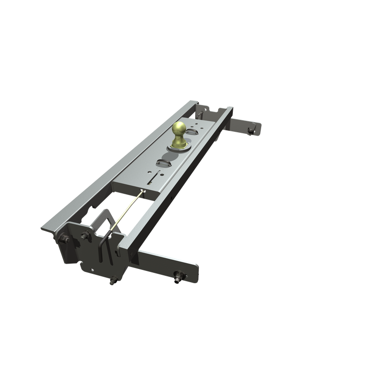 B&W Turnoverball Gooseneck Hitch 2007-2018 Chevrolet & GMC 1500 Long Bed Trucks with Fully Boxed Frame