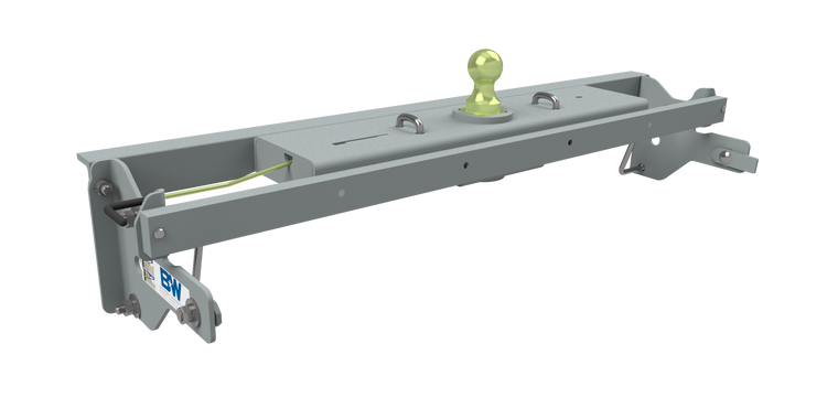 B&W Turnoverball Gooseneck Hitch 2019-2021 Chevrolet & GMC 1500 Trucks, Excludes 2019 Chevrolet LD & GMC Limited & Trucks with CarbonPro Bed