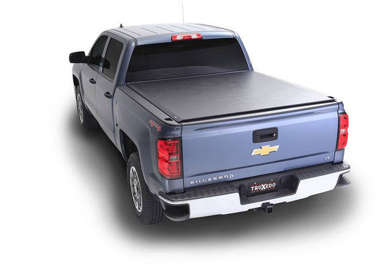 TruXedo Deuce 07-13 GMC Sierra & Chevrolet Silverado 1500/2500/3500 w/Track System 8' Bed