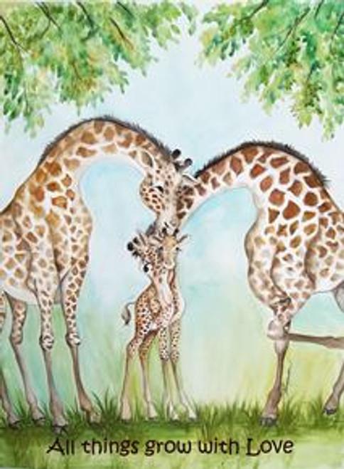 grow with love giraffe