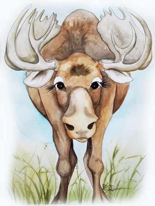 moose face