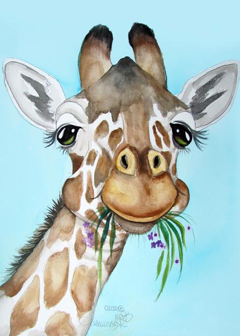 giraffe chubby cheek