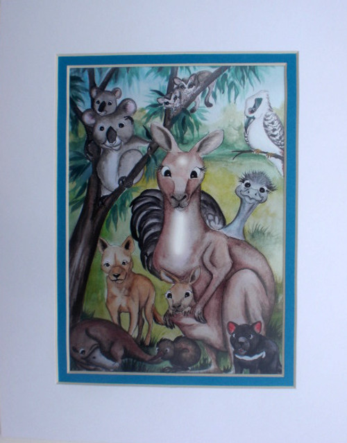Australian animal print