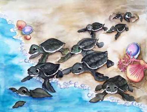 baby leatherbacks