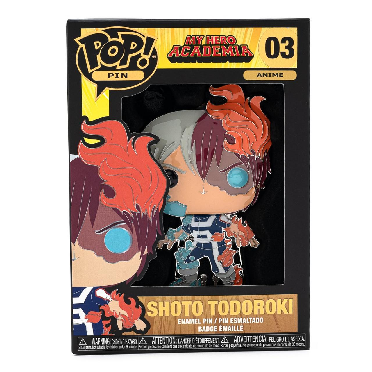 Tododeku Rainbow Heart Shipping Enamel Pin My Hero Academia