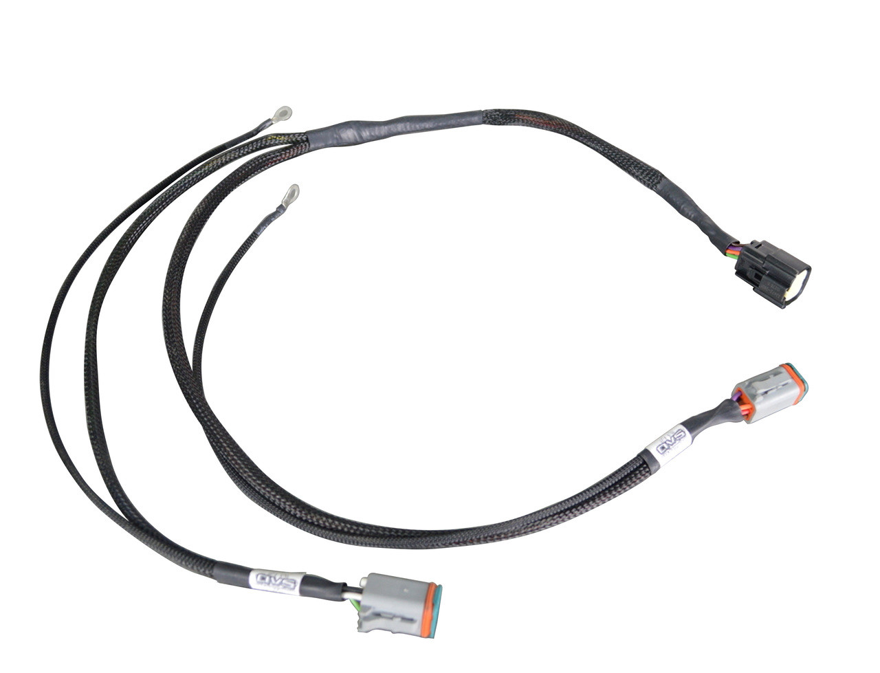 avs valve wiring harness for accuair endo vt tank to e level switchspeed Black Wire Cover
