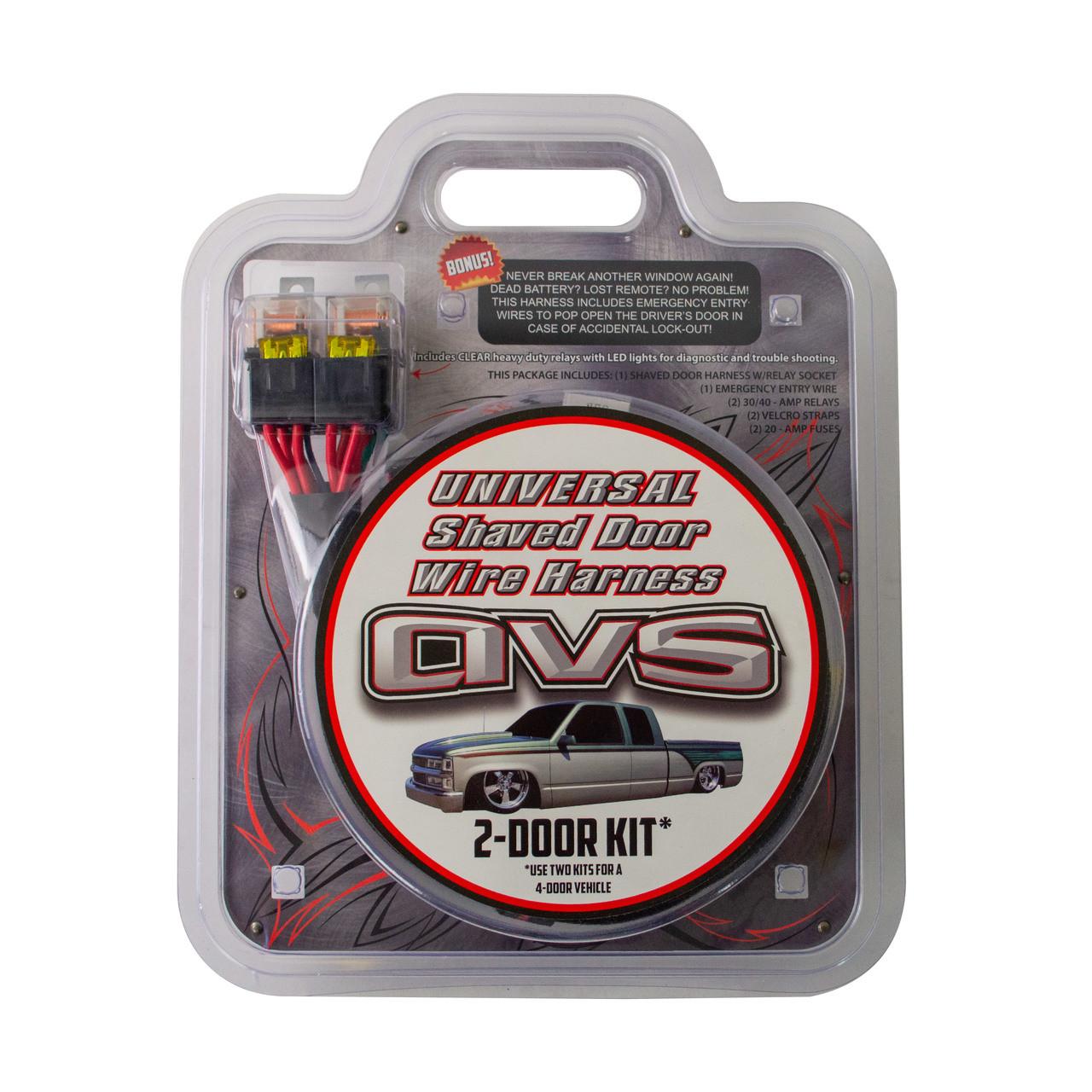 Avs Shaved Door Relay Wiring Harness Plug N Play Avs