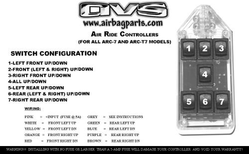 ROCKER AVS BILLET BRASS KNUCKLE AVS 9-SWITCH BOX SERIES Automotive ...