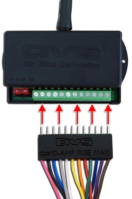 Avs Valve Wiring Harness 10 15 20 Avs Evolve Accuair Vx4 Valve To Avs 9 Switch Box Avs
