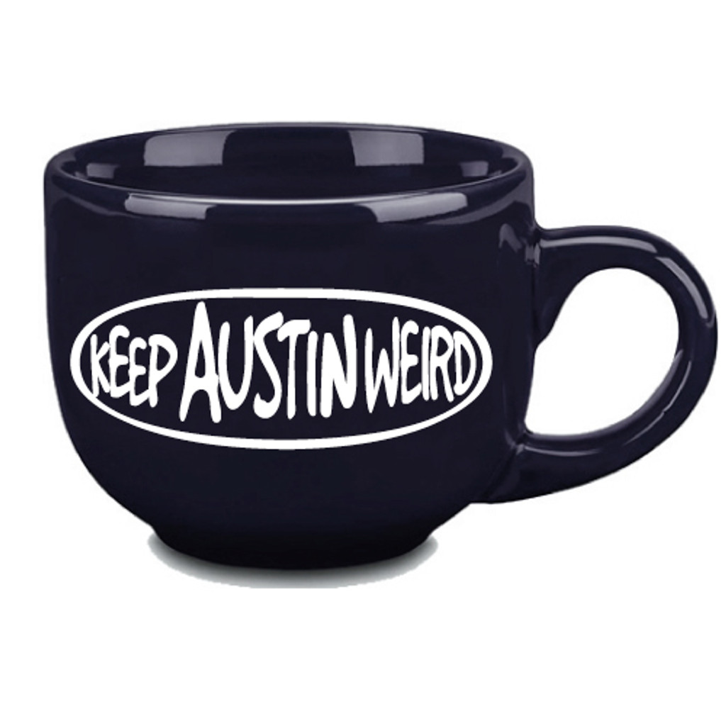 austiNuts Keep Austin Weird Black Mug