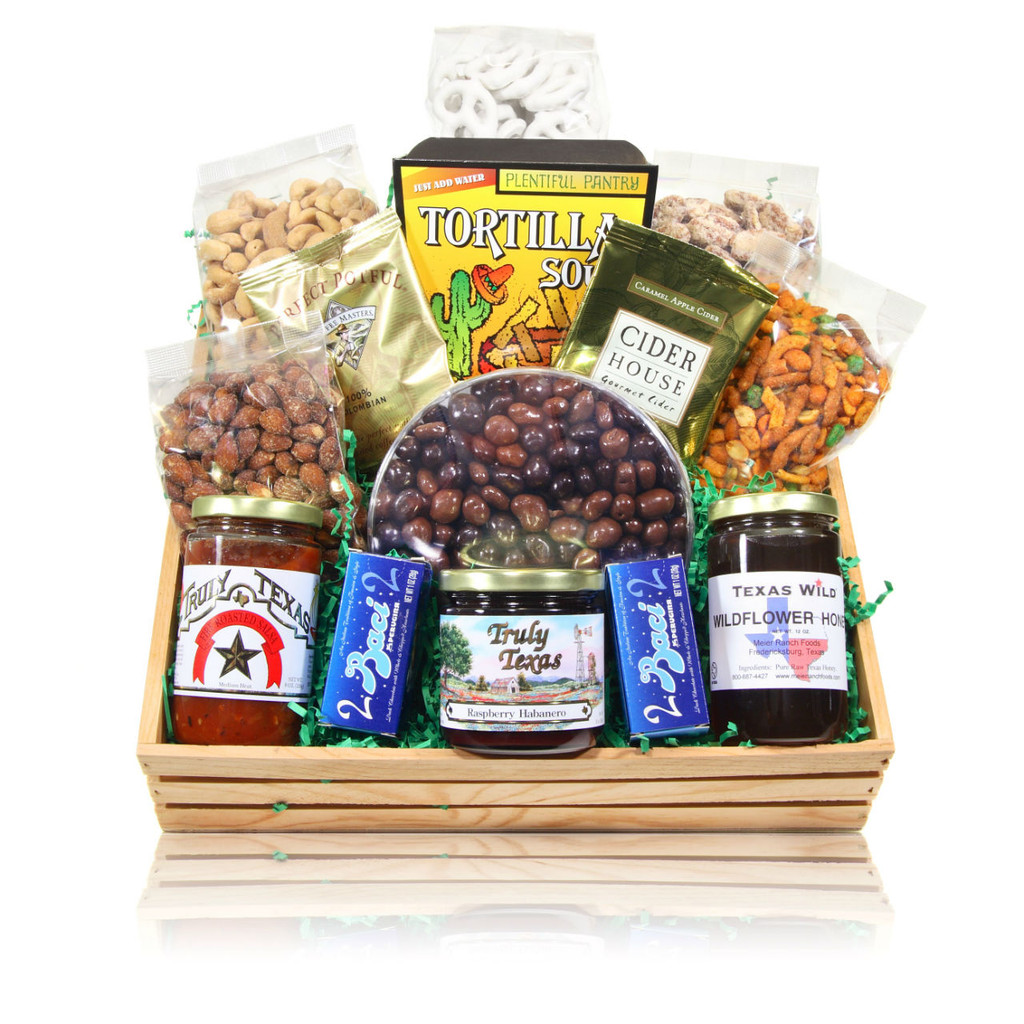 austiNuts Wood Crate Hostess Gift