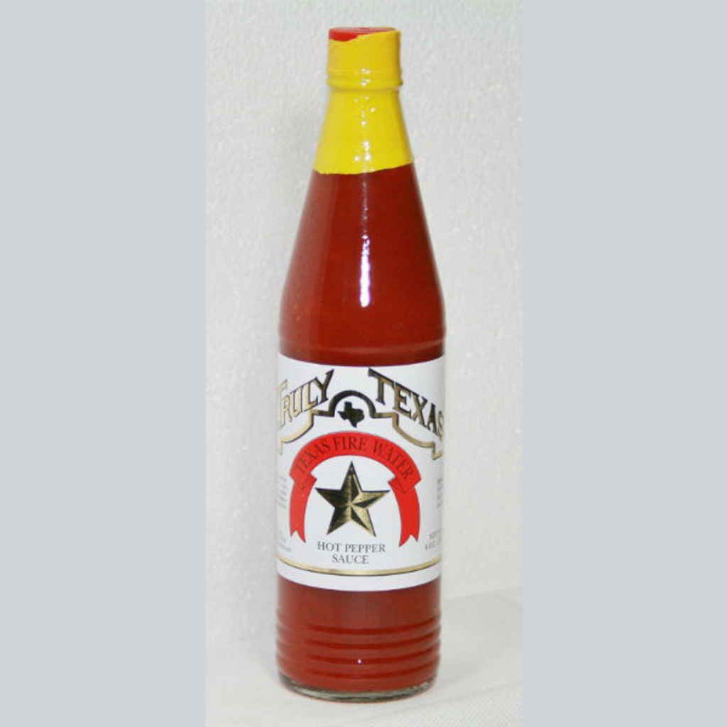 austiNuts carries Truly Texas® - Texas Fire Water Hot Pepper Sauce to help you complete your perfect gift basket, care package, or if you are looking for a great quality Texas product.