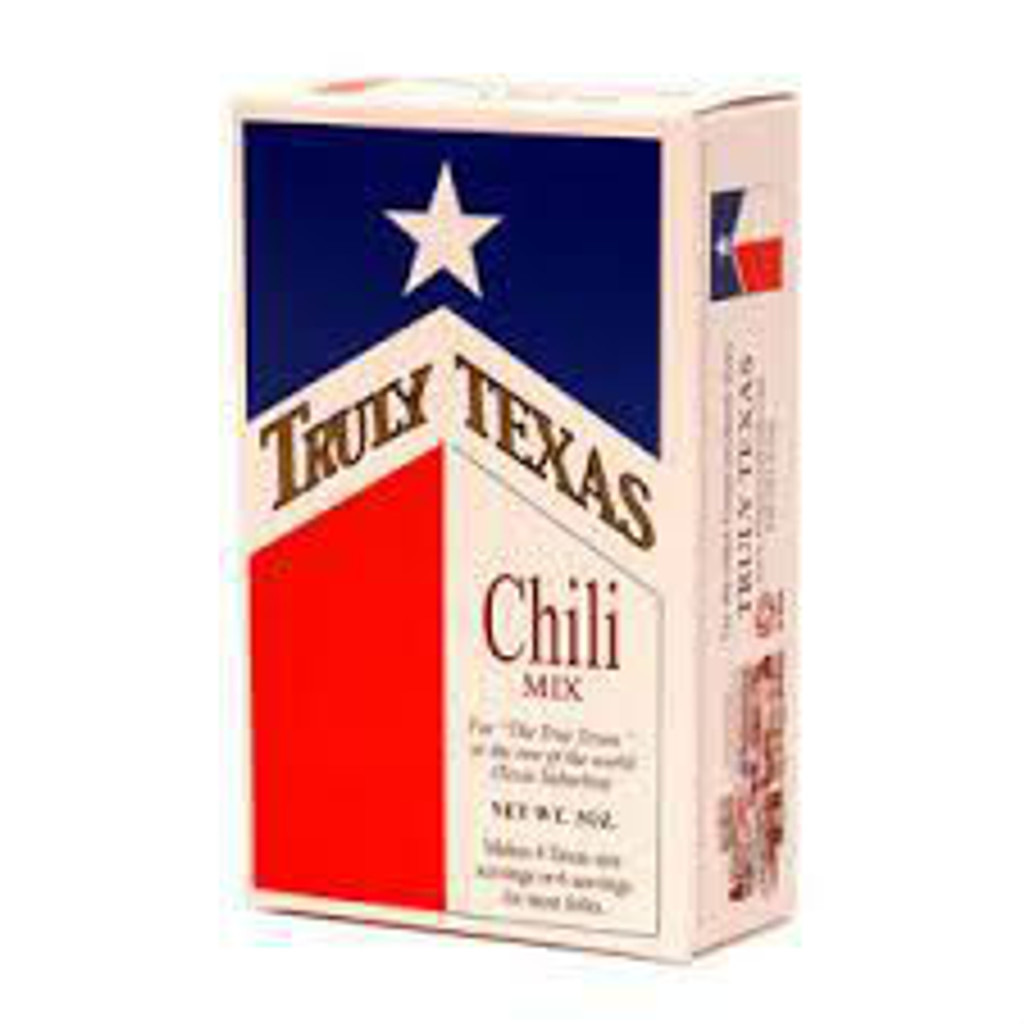 austiNuts carries Truly Texas® - Chili Mix to help you complete your perfect gift basket, care package, or if you are looking for a great quality Texas product.