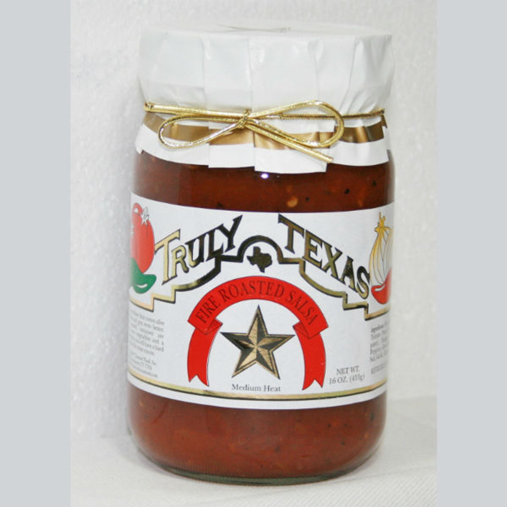 austiNuts carries Truly Texas® -  Fire Roasted Salsa help you complete your perfect gift basket, care package, or whenever you are in the mood for some salsa.