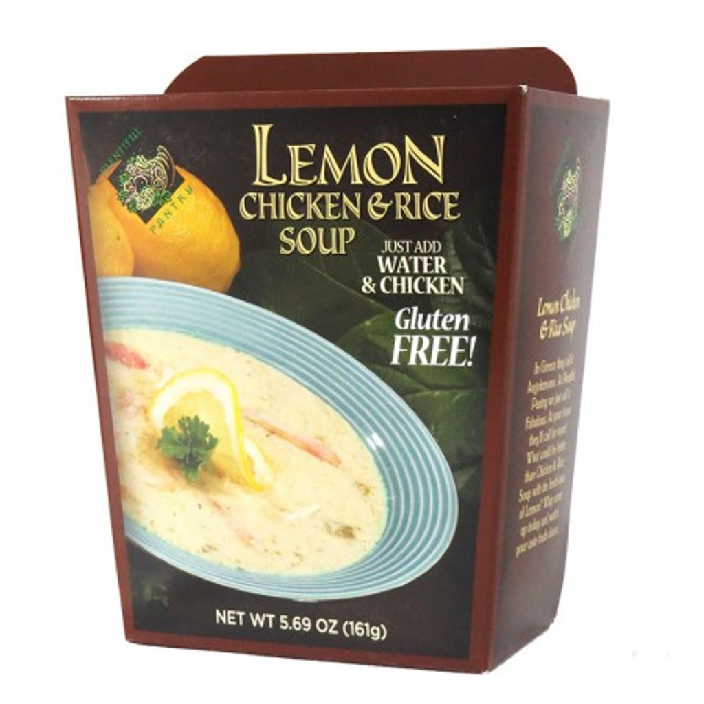 austiNuts carries Plentiful Pantry® Lemon Chicken & Rice Soup (Gluten Free)  to help you customize care packages, build baskets, or when you are just in the mood for some good quality soup.