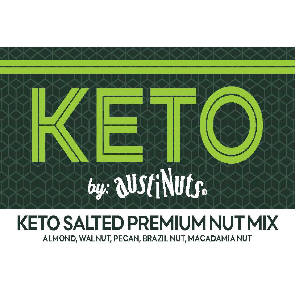 Keto Salted Premium Nut Mix
