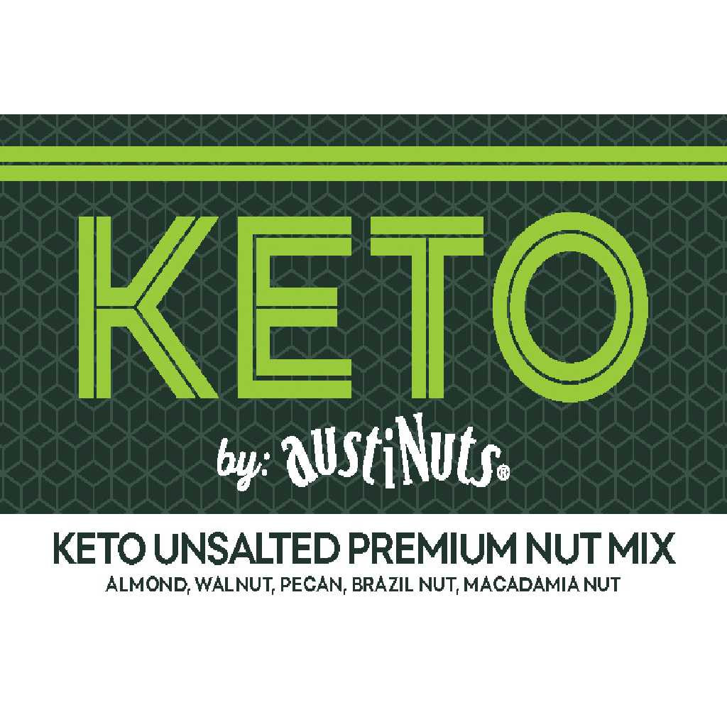 Keto Unsalted Premium Nut Mix