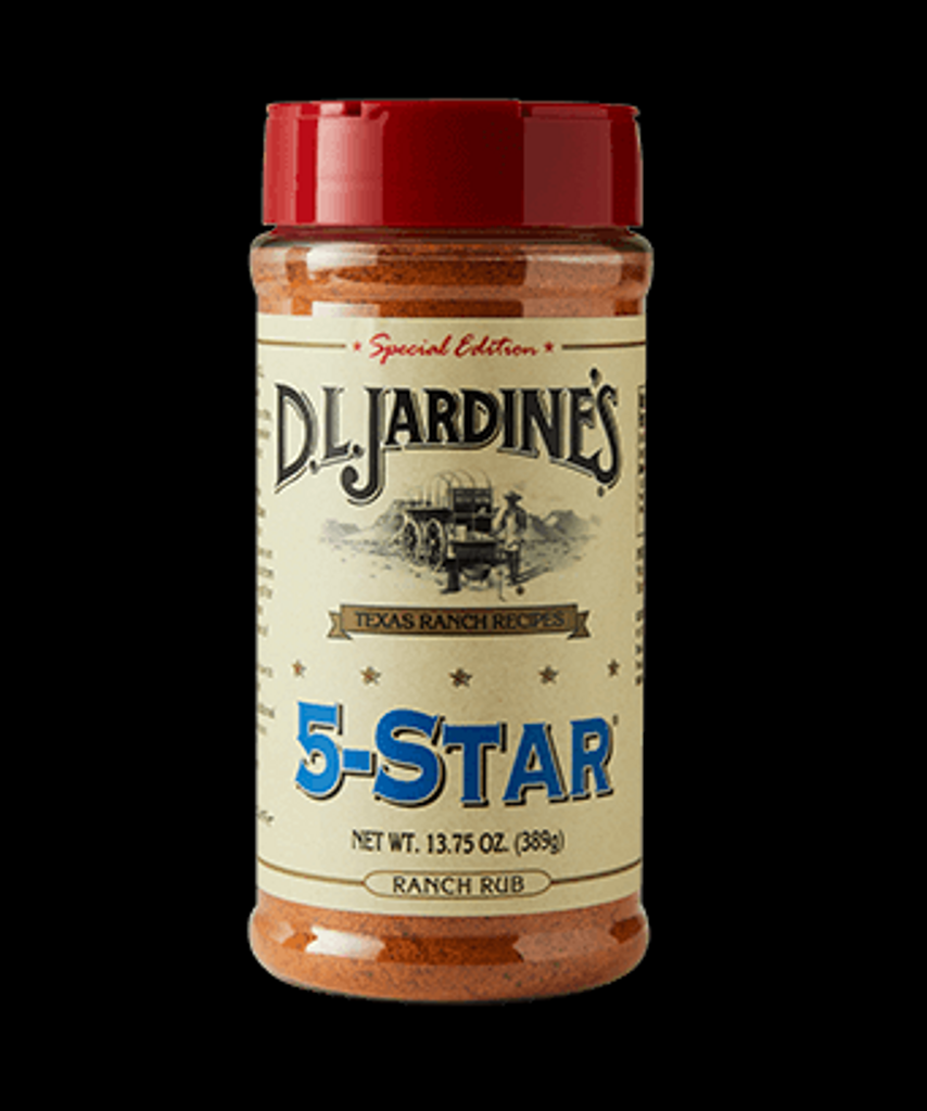 D.L.Jardines 5-Star Ranch Rub
