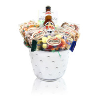 The austiNuts Wine & Champagne Bucket is a party favorite! Once the treats are gone, the bucket is a great keepsake and can be reused for future special occasions.