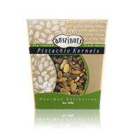austiNuts Pistachios provide a good source of dietary fiber, protein and vitamin B 1 and 6. Pistachio trees are native to mountainous area of the Middle East. Iran, Turkey and the United States are the largest pistachio producers in the world.  Weight: 8 oz.