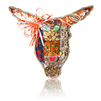 austiNuts Large Longhorn basket every longhorn loves on game day