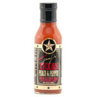 austiNuts carries Jimmy O's Texas - Peach & Pepper Marinade to help you complete your perfect gift basket, care package, or when you are planning an evening on the grill!