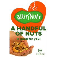 Handful of Nuts (12 pack)(FREE Priority Mail Shipping)