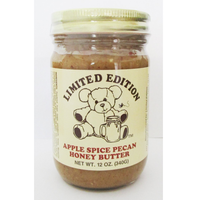 Limited Edition Apple Spice Pecan Honey Butter 12oz