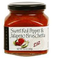 Elki® Sweet Red Pepper Jalapeno Bruschetta