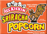 Ass Kickin® Popcorn - Sriracha - Single Pack