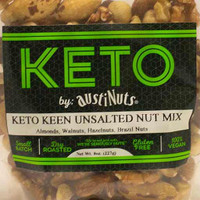 Keto Keen Unsalted Nut Mix