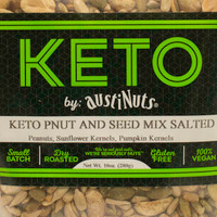 Keto Salted Peanut and Seed Mix