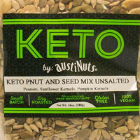 Keto Unsalted Peanut and Seed Mix