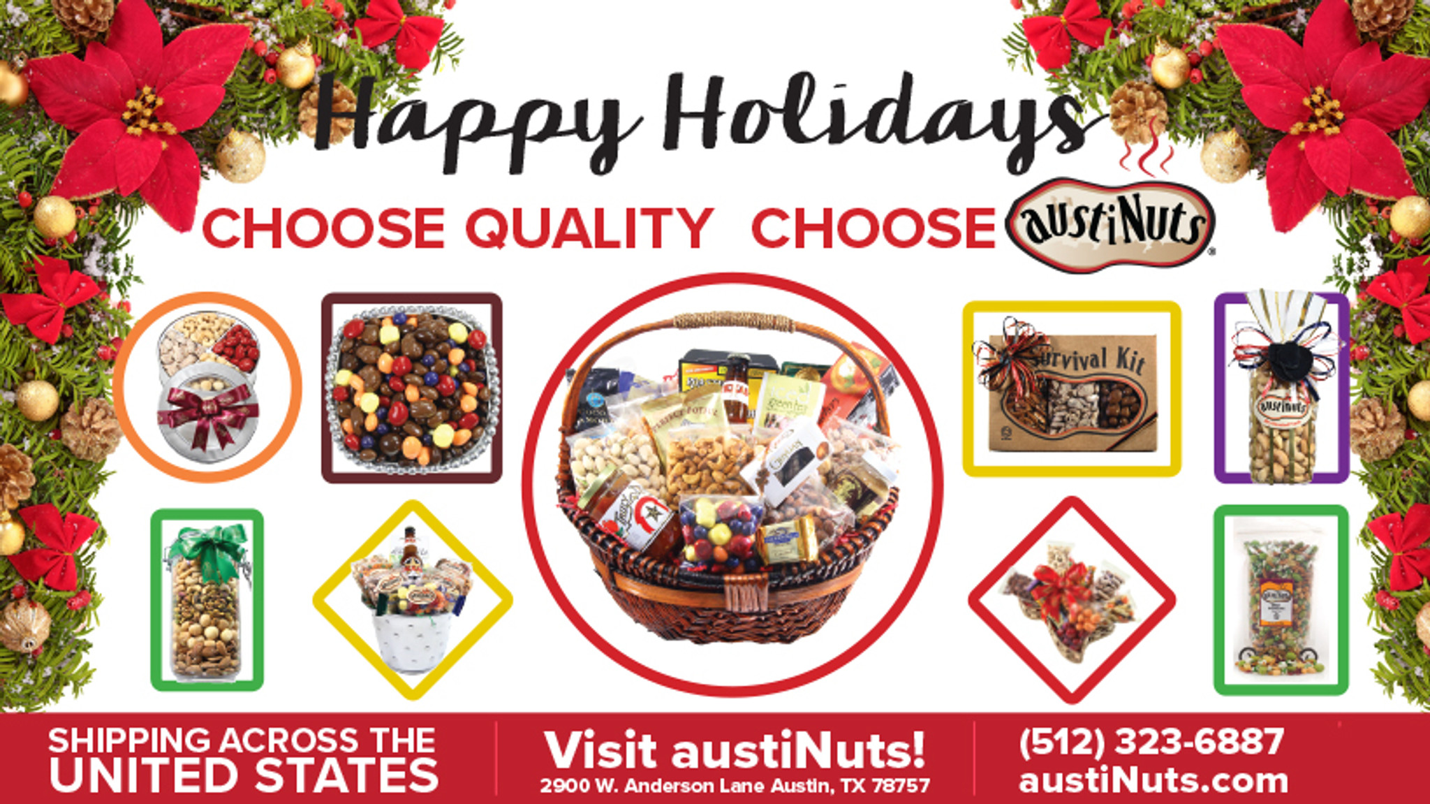Official austiNuts Holiday Gift Guide - Austin, Texas
