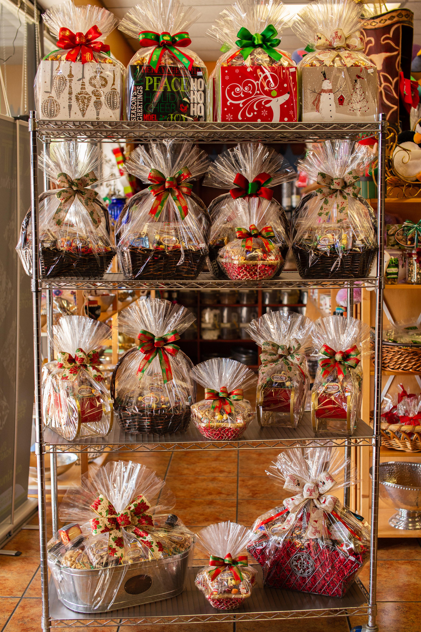 Large Selection of Holiday Gift Baskets CALL NOW