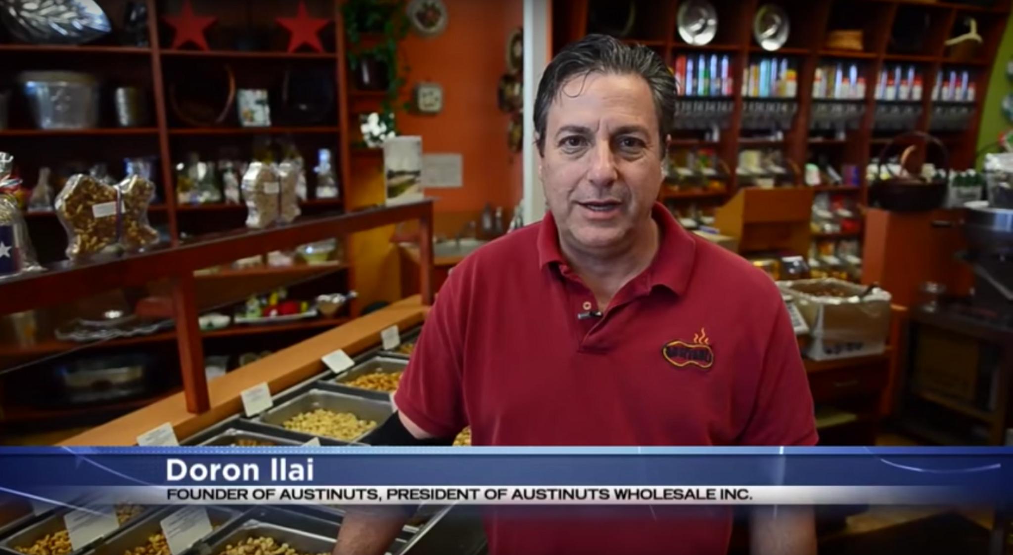 AustiNuts Business Story - Doron Ilai in Austin, TX