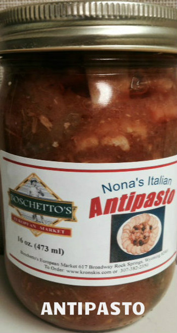 Boschetto's Antipasto pint (Add-on item / must be shipped with Kronski's)