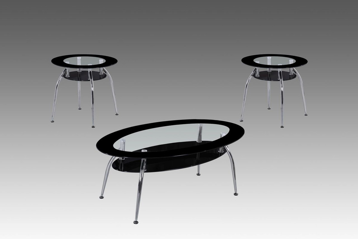 MILA 3 PC Coffee & End Tables