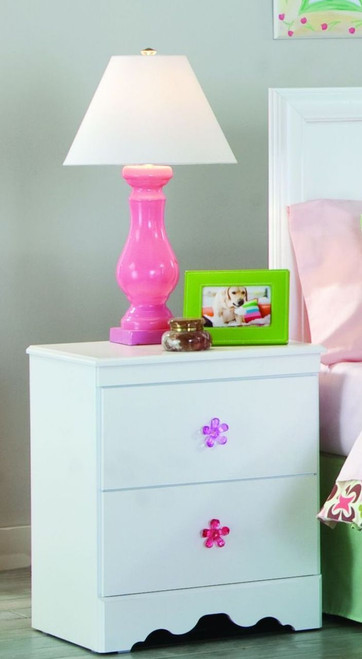 Savannah White Night Stand