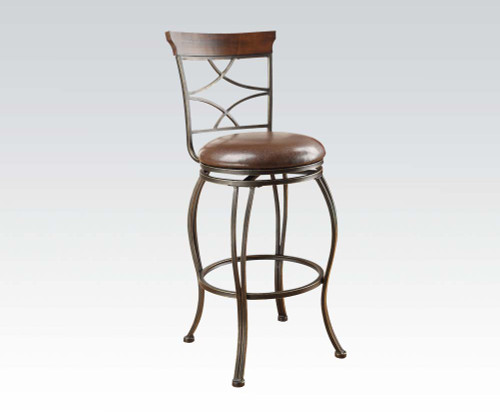 Tavio criss cross swivel bar stool, $99.95 ea