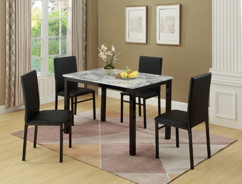 AIDEN 5PC DINING SET