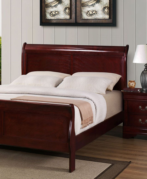 LOUIE PHILIPPE CHABLIS or ONYX SLEIGH BED