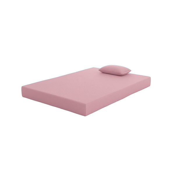 IKidz Pink Pink Full Mattress and Pillow 2/CN