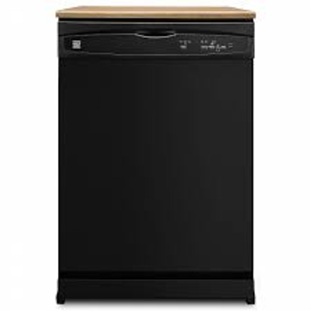 "Kenmore 24"" Portable Dishwasher (Black or White)"